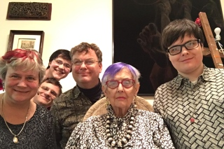 Eleanor Dickinson and Family 2015