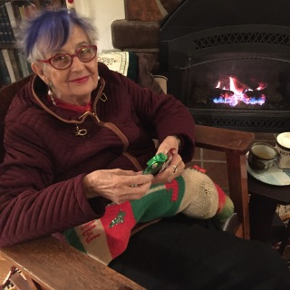 Eleanor Dickinson, Christmas 2016