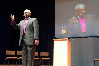 Presiding Bishop Michael Curry, Salinas, 7 Jan 2017