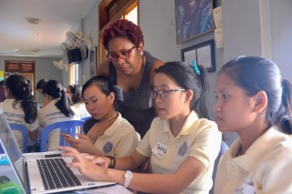 Harpswell Women in Cambodia 2016