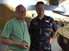 John Plocher and Jim Petro, 5 May 2017 IMG_0930
