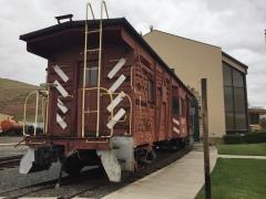 Caboose WP657, Nevada State Railroad Museum, Carson City Nevada, IMG_1135