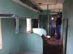 Inside Caboose WP657, Nevada State Railroad Museum, Carson City Nevada IMG_1176