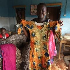 Mrs. Thaimu, Makeni, Sierra Leone, July 2017