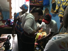 Tailor, Makeni, Sierra Leone, July 2017