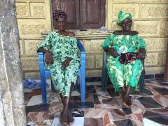 Stylish Grandmas, Makeni Sierra Leone, June 2017