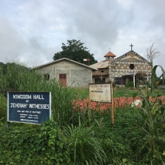 Catholic Church in Makeni, Sierra Leone July 2017
