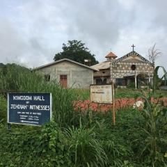 Catholic Church in Makeni, Sierra Leone July 2017