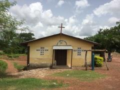 Church near Makeni, Sierra Leone July 2017