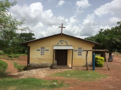 Church near Makeni, Sierra Leone July 2017