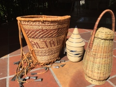 3 Baskets: from Apache, Rwanda, Sierra Leone