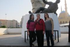 Maison Ibrahim, Sukaina Al Nasrawi, Katy Dickinson in Beirut Lebanon 2013