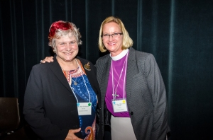 ECR Convention Simple Servant award Bishop Mary Gray-Reeves, Katy Dickinson 3 Nov 2017 by Elrond Lawrence