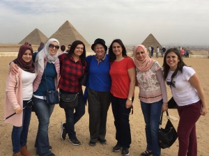 Giza, TechWomen Egypt Delegation 2018