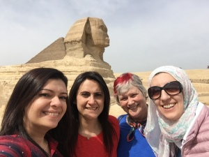 Sphinx, TechWomen Egypt Delegation 2018