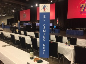Diocese of El Camino Real sign, Episcopal General Convention, House of Deputies, 4 July 2018