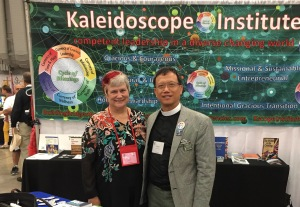 Katy Dickinson and Rev. Canon Eric Law Kaleidoscope 4 July 2018