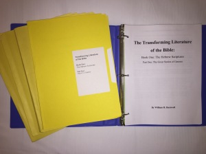 Transforming Literature of the Bible - Old Testament June 2018