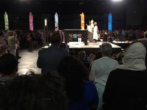 Presiding Bishop Michael Curry GC79 worship 5 July 2018, Austin TX