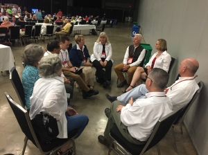 Episcopal Diocese El Camino Real Delegation GC79 discussion 6 July 2018