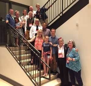 stairs Diocese of El Camino Real Delegation, Episcopal General Convention, 6 July 2018