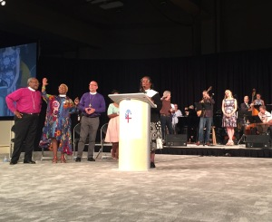 Episcopal General Convention Revival, GC79 on 7 July 2018