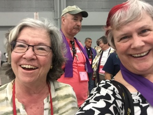 Katy Dickinson and Celeste Ventura, General Convention gc79 on 9 July 2018