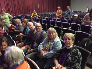 Episcopal Diocese of El Camino Real Deputation in worship GC79 on 9 July 2018
