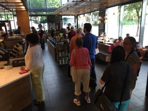 GC79 coffee line in Austin 10 July 2018