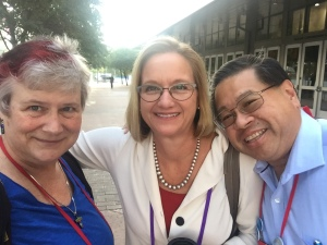 Bishop Mary Gray-Reeves, Tim Gee, Katy Dickinson, gc79 on 11 July 2018