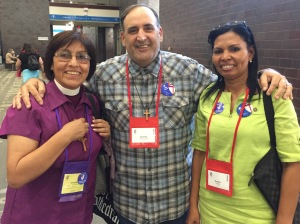 Bishop Griselda Delgado Del Carpio and colleagues from the Episcopal Diocese of Cuba GC79 on 12 July 2018