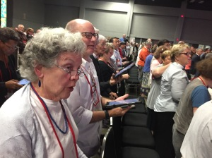 Episcopal Diocese of El Camino Real Deputation GC79 worshiping on 12 2018