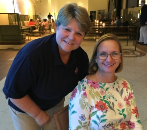 Bishops Mary Gray-Reeves of El Camino Real and DeeDee Duncan-Probe of Central New York GC79 on 12 July 2018