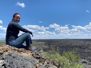 Jessica - Craters of the Moon National Monument and Preserve, July 2019