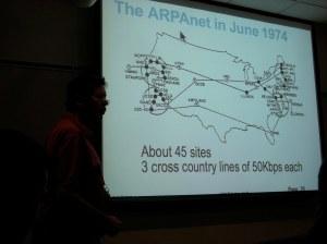 Danny Cohen VOIP talk 2009 - ARPAnet 1874