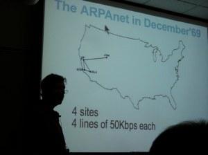 Danny Cohen VOIP talk 2009 - ARPAnet 1969
