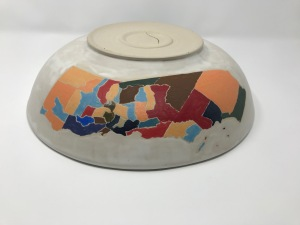 Paul D Goodman ceramic California Bowl, February 2019