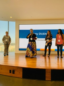 Katy Dickinson moderates TechWomen panel on Best Practices in Mentoring, 17 Sep 2019