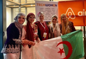 Team Algeria TechWomen 30 Sep 2019
