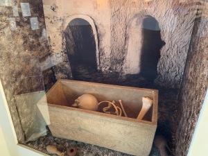 Ossuary or Bone Box, Bade Museum, Pacific School of Religion, Berkeley, Dec 2019