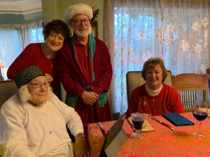 Reading group for Dickens Christmas Carol Dec 2019