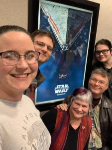 Jessica Matthew Katy John Paul Star Wars movie Christmas 2019
