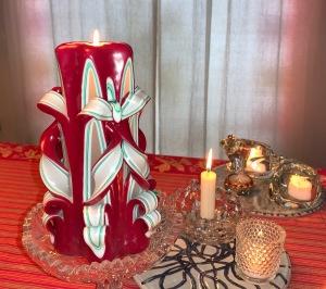Christmas candle 2019