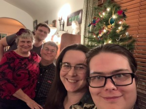 Matthew Katy John Jessica Paul Christmas 2019