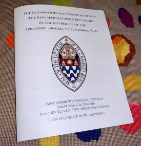 Consecration of Lucinda Ashby, 11 Jan 2020