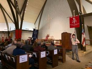 Parish banners, Consecration of Lucinda Ashby, 11 Jan 2020