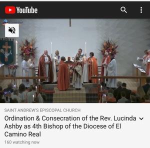 Consecration of Bishop Lucinda Ashby, 11 Jan 2020