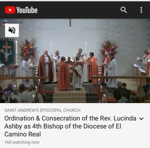 Consecration of Bishop Lucinda Ashby, 11 Jan 2020