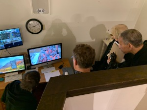 St. Andrew's Episcopal Church video crew, 11 Jan 2020