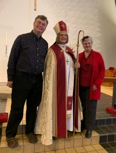 Bishop Lucinda Ashby, John Plocher, Katy Dickinson, 11 Jan 2020